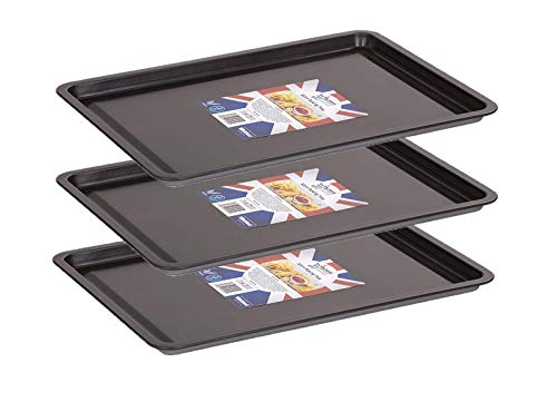 Wham Non-Stick Baking Tray (Set of 3 (32x23x1.5 cm))