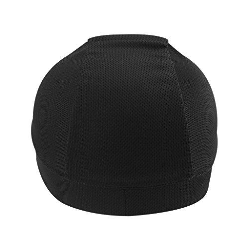 Homyl Bonnet à Séchage Rapide Beanie Bonnets De Vélo Ajustables Chapeau Crâne Casquette Casque Doublure