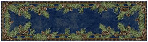 pine cone kitchen rugs - 8