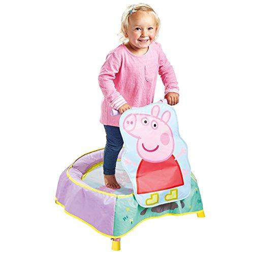 Kid Active Peppa Pig Childrens Toddler Trampoline