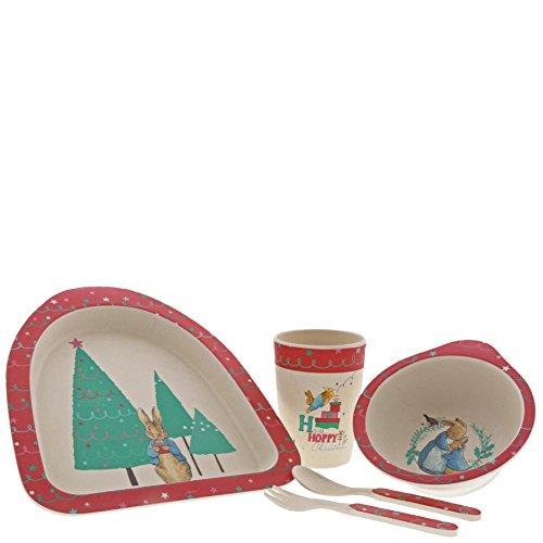 Beatrix Potter A29398 Peter Rabbit - Vajilla de Navidad