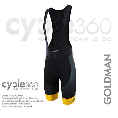 Cycle360 Culote Tope de Gama World Series config. STD Mod. Goldman Talla L