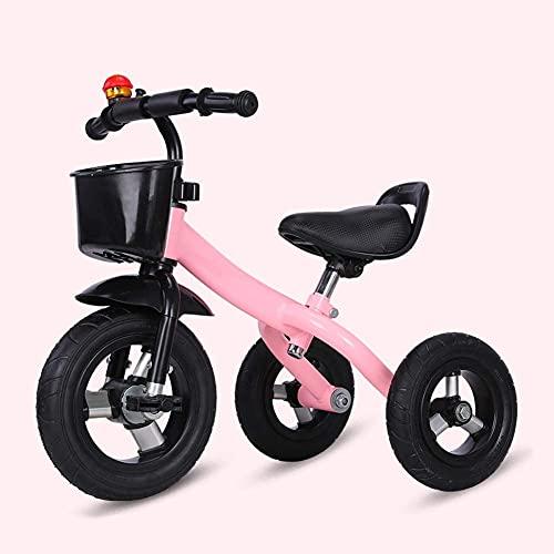 Triciclos Triciclo Triciclo 2 en 1 Triciclo para niños con pedal, altura Bicicleta de entrenamiento al aire libre ajustable, para 2-5 años, niños y niñas, regalo de cumpleaños, bicicleta de equilibrio