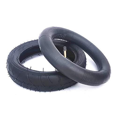 SUIBIAN Elektro-Scooter Reifen, 10 Zoll Pneumatische inneren und äußeren Reifen, rutschfest und verschleißfest, Geeignet für Kinderwagen/Motorroller, 260X55,10X2.0 Optional,260X55