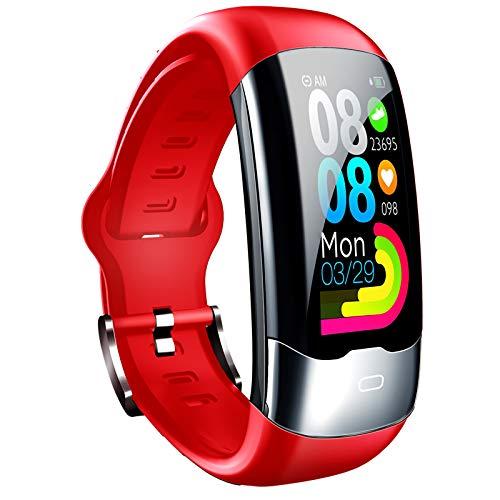 CYJ Pulsera De Actividad Inteligente Reloj Deportivo IP67 para Hombre Mujer Monitor De Sueño Podómetro Contador Notificación Varios Datos Deportivos Detección De Frecuencia Cardíaca