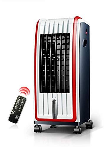 Stille desktopventilator, huishoudelijke luchtkoeler, kleine slimme mobiele airconditioner voor verwarming en koeling, draagbare slaapkamer, kantoorkoeler