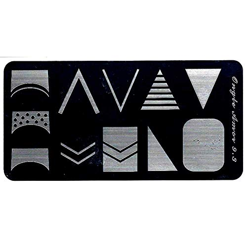 Plaque nail art stamping,pour vernis stamping et tampon stamping TAILLE 12/6 CM Plaque stamping 9.3   ONGLE AMOR