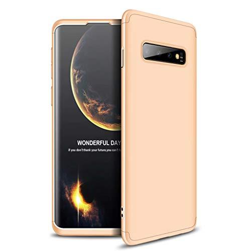 Lanpangzi Compatible con Funda Xiaomi Redmi Go Case Caso 3 in 1 Carcasa Todo Incluido Anti-Scratch Case Cover Protectora de teléfono para Xiaomi Redmi Go - Oro