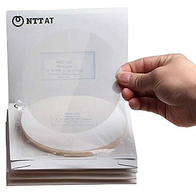 10Pcs Fiber Optic Abrasive Paper ADS Polishing Sheet Grinding Machine Diamond Sandpaper