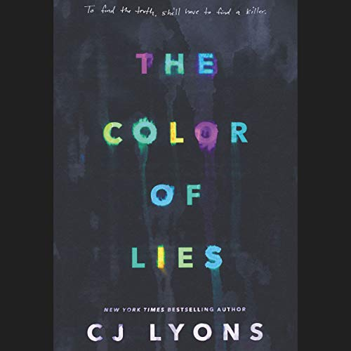 The Color of Lies audiobook cover art