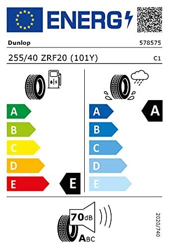 Dunlop 79483 Neumático Spmaxx Gt 600 255/40 R20 101Y para Turismo, Verano