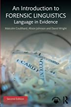 Best an introduction to forensic linguistics Reviews