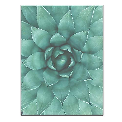 XYanZi Privacy Raamfolie, Groene Plant Frosted Decoratieve Raamsticker Niet-klevende, Niet-klevende Statische Glasfolie Anti-UV-film (Color : A, Size : 80x120cm)