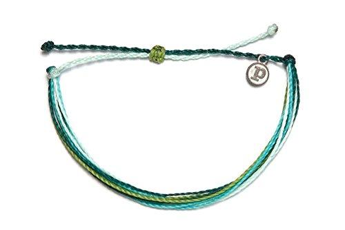 Pura Vida Coral Reefin' Bracelet- 100% Waterproof Wax Coated Girls' Accessories- Handmade