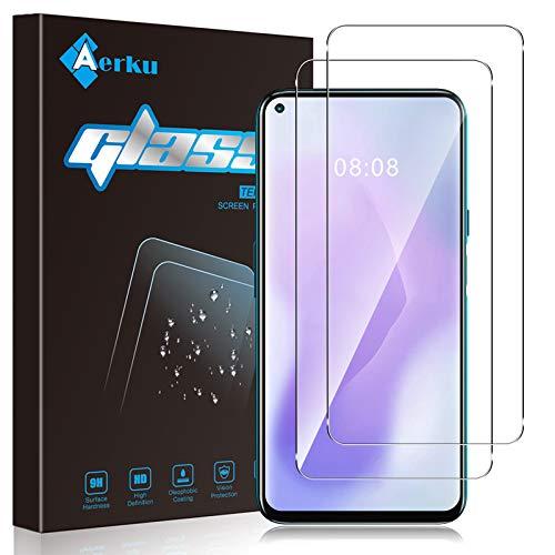 Aerku Protector de Pantalla Compatible con CUBOT X30[2 Piezas],9H Alta Sensibilidad 2.5D[Sin...
