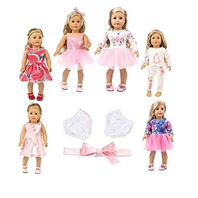 "axxxt 11PC American girsl Doll Unicorn Doll American girsl Unicorn Doll Accessories Outfits Fits 18"" Unicorn Doll Clothes American girsl Unicorn Doll Clothes 18 inch American girsl Doll Unicorn by axxxt"