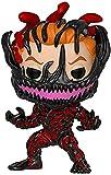 Pop Vinyl Anime Figura Venom Eddie Brock Carnage Cletus Kasady Mini Q Version Anime Figura Animaciones Personaje Modelo 3 9 Pulgadas