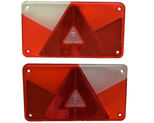 FKAnhängerteile Aspöck Multipoint 5 Ersatzglas - Lichtscheibe - Links und Rechts