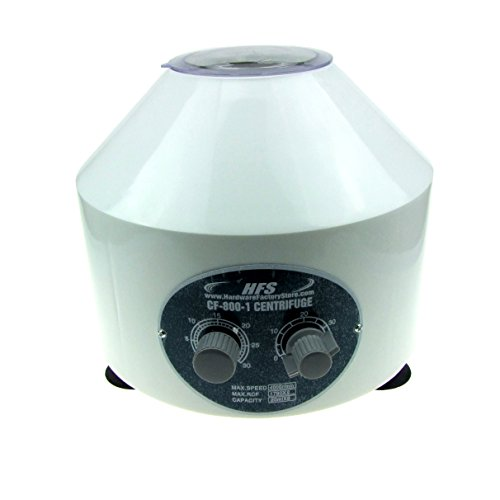 HFS Electric Centrifuge (Timer 0-30min) 0-4000 RPM Cap:20ml X 6 Tube (800-1) 110v [No for Medical Use]