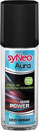 syNeo Aura Deodorant+ Power ohne Aluminium, 1er Pack (1 x 75 ml)