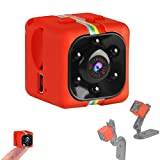 Crazepony-UK Mini cámara Espias SQ11 Camcorder 3.6mm Night Vision FOV140 Mini Camera Spy 1080P HD Sports Micro Camera DVR Video Recorder (Metal Shell)