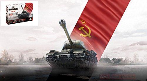 Italeri IT56506 World of Tanks Josef Stalin JS-2 Kit 1:56 MODELLINO Model Compatibile con