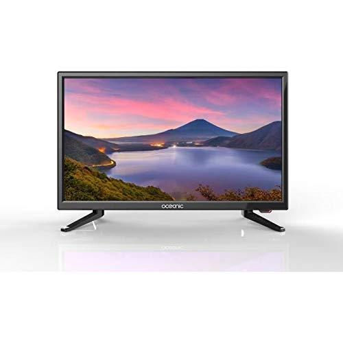 OCEANIC LED TV Camping Car Full HD 55 cm (21,5'') - 12V-220V - TDT, HDMI, USB