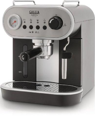 Gaggia RI8525/08 Carezza Manual Coffee Machine - grey