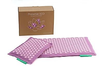 THERAPEUTIC MANUAL MASSAGE SET PRANAMAT ECO (Pranamat massage mat + PranaPillow massage pillow)