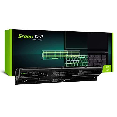 Green Cell Batería HP KI04 800049-001 800050-001 800009-421 800010-421 HSTNN-DB6T HSTNN-LB6S para HP Pavilion 14-AB 14-AB166US 15-AB 15-AK 15-AK110NS 17-G 17-G133DS 17-G134DS 17-G161US Portátil