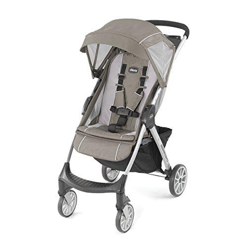 Image of Chicco Mini Bravo Lightweight Stroller, Stone