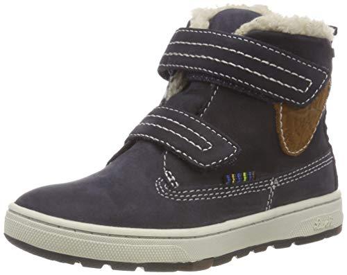 Lurchi Jungen Diego-TEX Chukka Boots, Blau (Atlantic 22), 28 EU