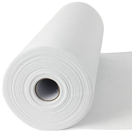50 lfm Madeira Stickvlies, Reißvlies in weiß, 50 g/m², 30 cm breit, Cotton Soft, mittelschwere Stoffe, ohne Kleber - Stickvlies!