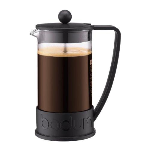 Bodum BODUM ボダム BRAZIL フレンチプレスコーヒーメーカー 1.0L ブラック 10938-01 [0321]
