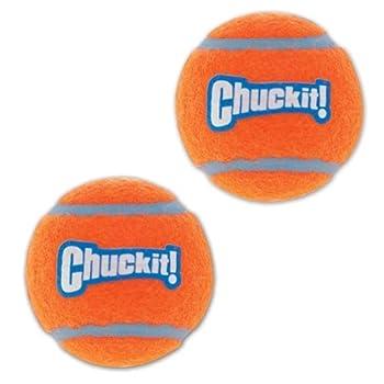 Chuckit Tennis Ball pour Chien 2 Pièces 5 cm Taille S