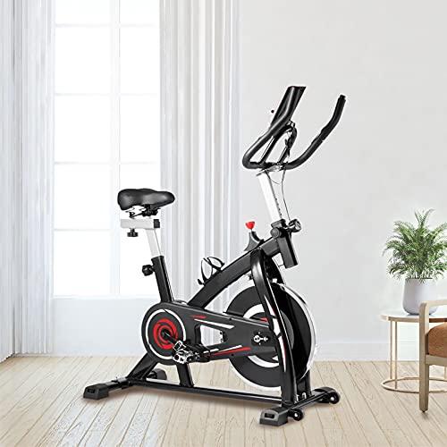 Ciclette per casa Con trasmissione a cinghia silenziosa Spin bike Sensori palmari Cyclette diadora Per allenamento di resistenza