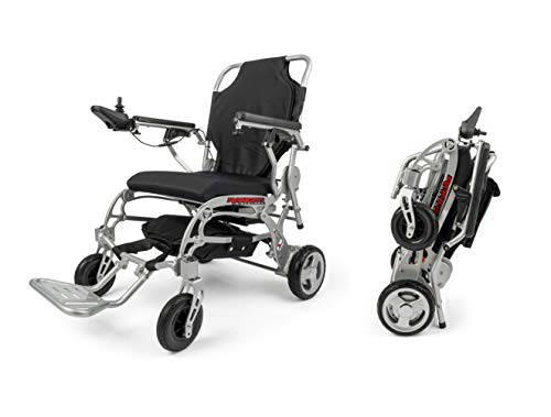 Porto Mobility Ranger World's Lightest (only 41lbs) Foldable Electric Wheelchair