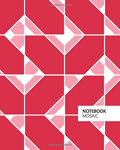 Mosaic Notebook (8x10 Notizbuch) (Red)