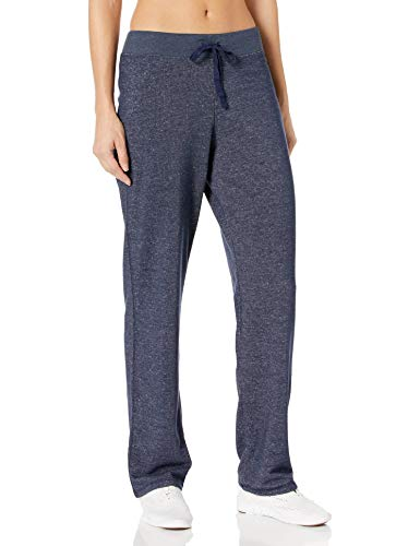 Hanes Women's French Terry Pant, Navy Heather, Large
