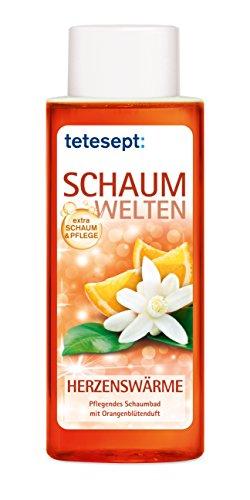 tetesept Schaumwelten Herzenswärme, 5er Pack (5 x 400 ml)