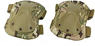 DLP Tactical X-Cap Quick Release Ergonomic Adult Elbow Pads/Youth Knee Pads