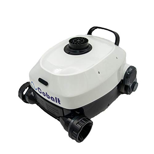 Nu Cobalt NC23 Smart Logic Robotic Pool Cleaner for Medium to Big Above Ground Pools as Well as Small inground Pools Floor Cleaner