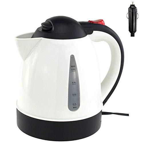 Wasserkocher 0,8L weiß 12V/150W