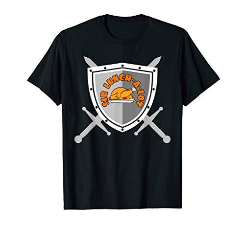Sir Lunch a Lot - Essen Buffet Vielfraß Feinschmecker T-Shirt
