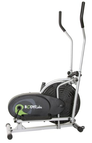 Body Rider Body Flex Sports Elliptical Exercise Machine, at-Home Exercise Equipment Black/Green/Silver ,One Size from Hupa International, Inc.