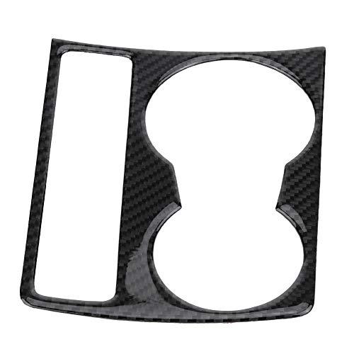 KIMISS Consola central del coche de carbono Soporte para