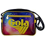 BORSA GOLA MINI REDFORD COSMIC STAR NAVY/NEON YELLOW
