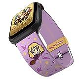 Harry Potter - Correa de reloj inteligente Hermione Charms Edición - Licencia oficial, compatible con Apple Ver (no incluido) - Se adapta a 38 mm, 40 mm, 42 mm y 44 mm