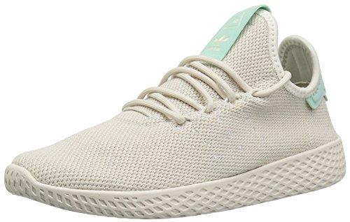 adidas Originals Women's PW Tennis HU Running Shoe, Talc/Talc/Chalk White, 9 M US