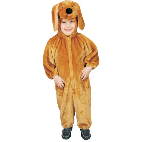Dress Up America Costume de Chiot Brun en Peluche Sensationnel pour Enfants